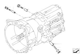 GS6-53BZ/DZ, 내부 변속기구