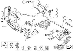 Hydr.řízení olej. vedení/adaptivní pohon