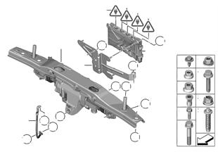 Activador HSR/piezas mont./unidad mando