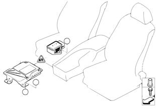 主動轉向控制控制單元 / 偏轉率傳感器
