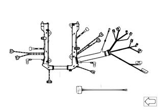 Faisceau de câbles moteur, module moteur