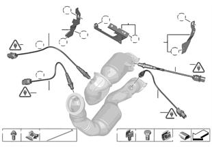 Lambda sezicisi/Montaj parçaları