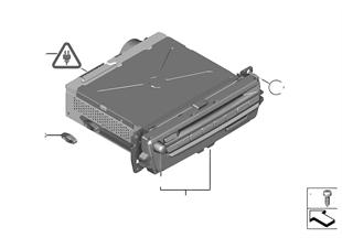 Car InfotainmentComputer-จอแสดงข้อมูลรวม