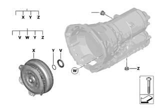 GA8HP50Z トルク コンバーター/シール剤
