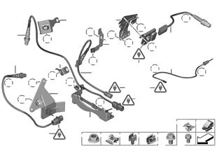 Lambda sonda/montážní díly