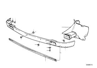 Paraurti anteriore