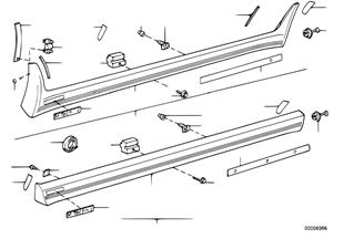 M 커버, 로커패널 / 휠 하우스