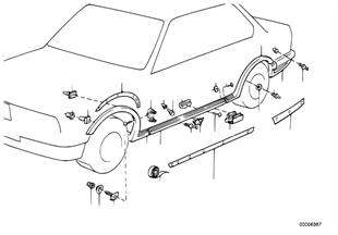 擋板 車門檻 / 輪罩