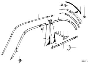 Vnější lišty / ozdobná mřížka