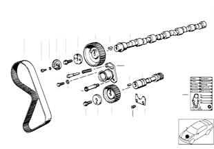 Timing+valve train-tooth belt/camshaft