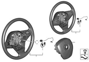 Volant kůže Airbag