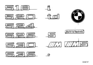 Эмблемы / надписи