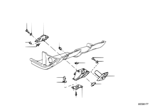 Verkleidung Instrumententafel Anbauteile