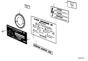 Information plate