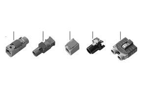 Piezas reparación cable coaxial carcasa