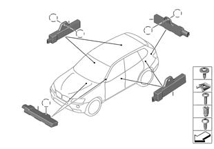 Losse onderdelen antenne comforttoegang