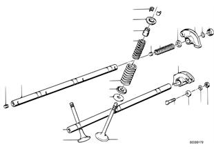 閥門控制搖桿/氣門