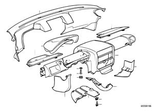Verkleidung Instrumententafel