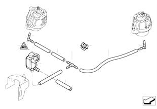 Vacuum control-Engine bearing