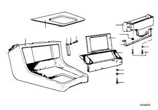 Ablegefach/Autotelefon-Vorbereitung