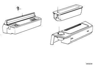 雜物盒-煙灰缸 前部