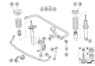 Single parts for Sport suspension