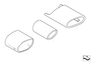 排氣管尾罩