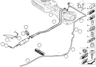 Tuberia y filtros de combustible