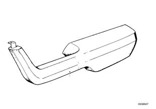 Armrest, front