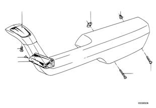 Armrest-single parts