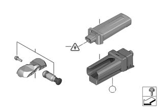 タイア空気圧コントロールユニット RDC