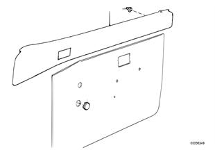 도어 트림 패널,위,앞-도어 포켓