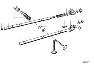 Ventilsteuerung-Kipphebel/Ventile