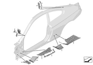 Estancamento cavidades estrutura lateral