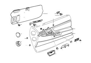 Quartela porta — peças individ.