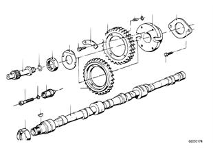 타이밍 밸브 트레인-캠축