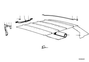 Revest.techo-cielo/asidero de sujecion