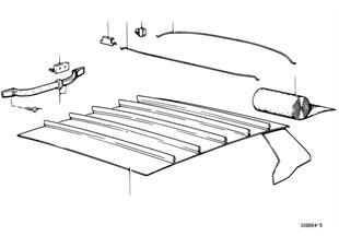 Ουρανός επένδυσης οροφής/χειρολαβή