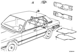 Trunk trim panel