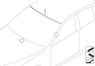 Parti applicate vetratura