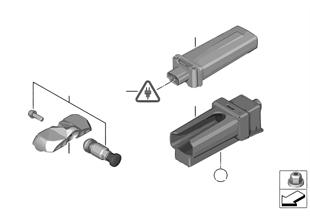 Reifendruck Control (RDC) — Steuergerät