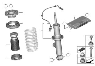 減震支柱 後部 / VDC / 控制單元