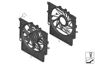 Fan davlumbazı-montaj parçaları