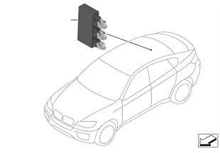 Unidad mando control distancia aparcam.