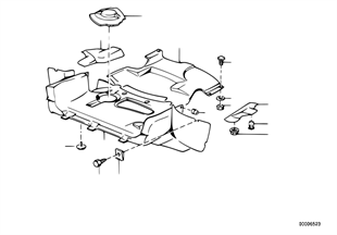Blindagem compartimento motor/conduta ar