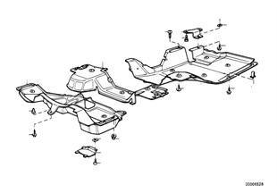 Stínění motorový prostor/vedení vzduchu