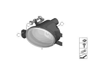 Lampa przeciwmgłowa