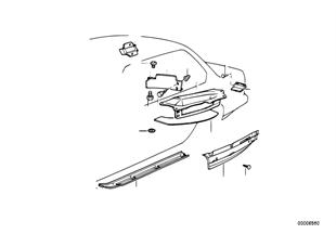 Теплоизоляция пола багаж. отделения