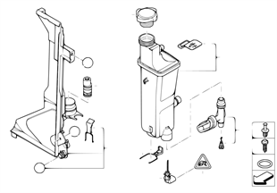 Vyrovnávací nádoba automat. převodovka
