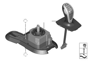Schaltung Automatikgetriebe 8HP